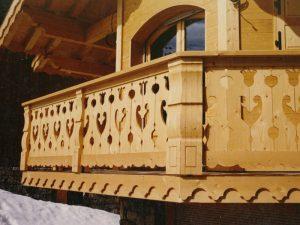 Palines de balcon travaillées - Modèle 410