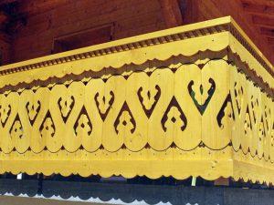 Palines de balcon travaillées - Modèle spécial