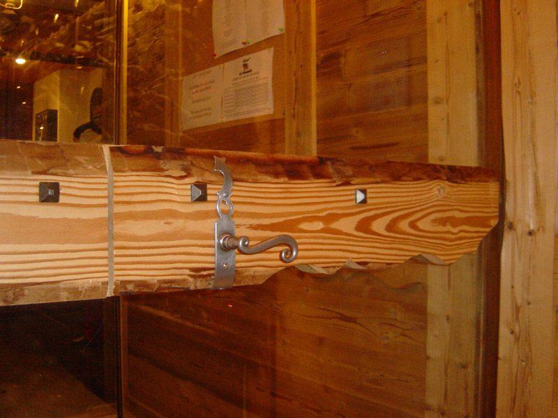 Lame épicéa vapo. brossé avec flache - Le Dôme de Miage