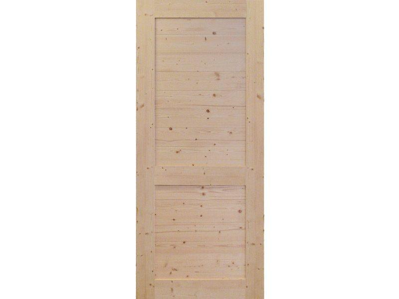 Porte Nigrotte sapin brossé