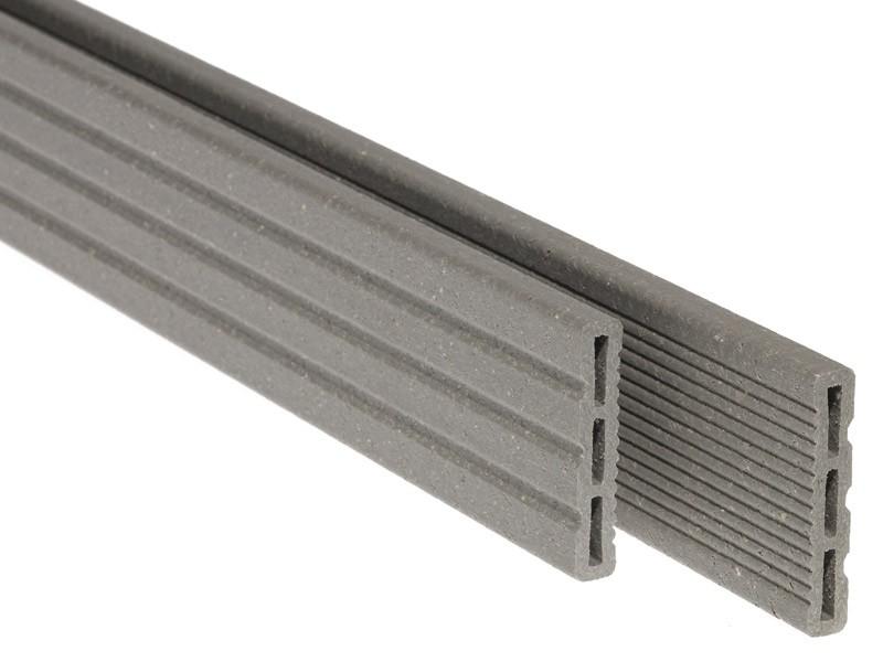 Accessoires pour terrasse composite : Cover strip gris argenté UPM Profi