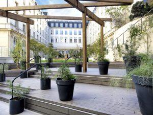 Lame de terrasse en composite UPM ProFi Deck 150 - Brun noisette (France)