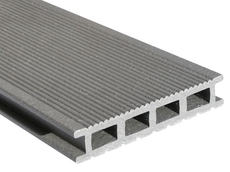Lame de terrasse en composite UPM ProFi Deck 150 - Gris argenté - Bois Espace