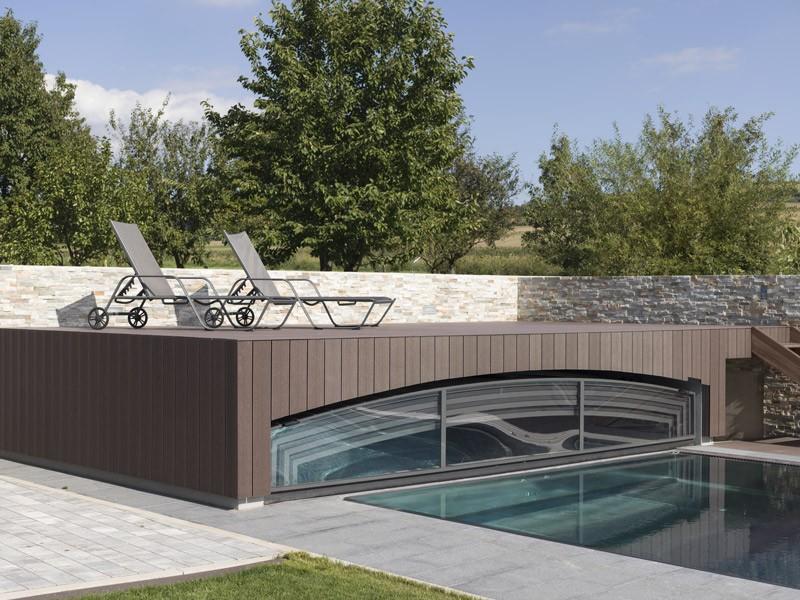 Lame de terrasse en composite UPM ProFi Deck 150 - Brun noisette (Autriche)