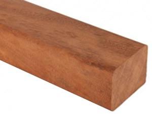 Lambourde en bois exotique