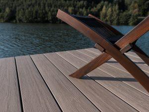 Lame de terrasse en composite UPM ProFi Piazza - Californian Oak