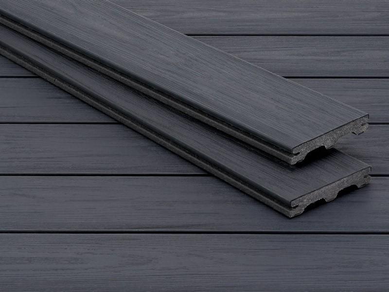 Lame de terrasse en composite UPM ProFi Piazza - Streaked Ebony