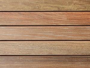 Lames de terrasse en bois exotique Vetedy Softline - Ipé