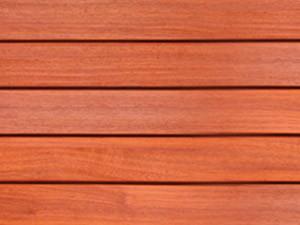 Lames de terrasse en bois exotique Vetedy Softline - Padouk