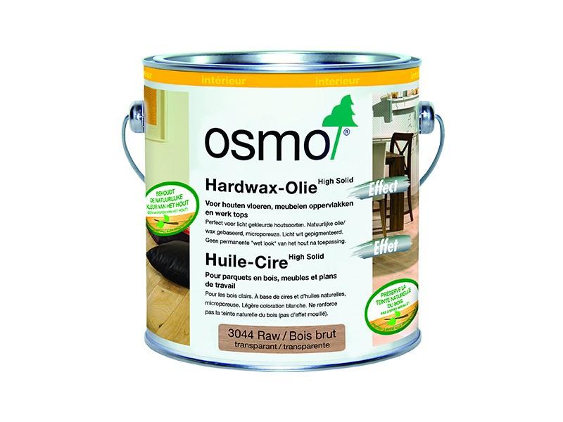 Produit d'entretien Osmo - Huile-Cire Effet n°3044 Bois brut