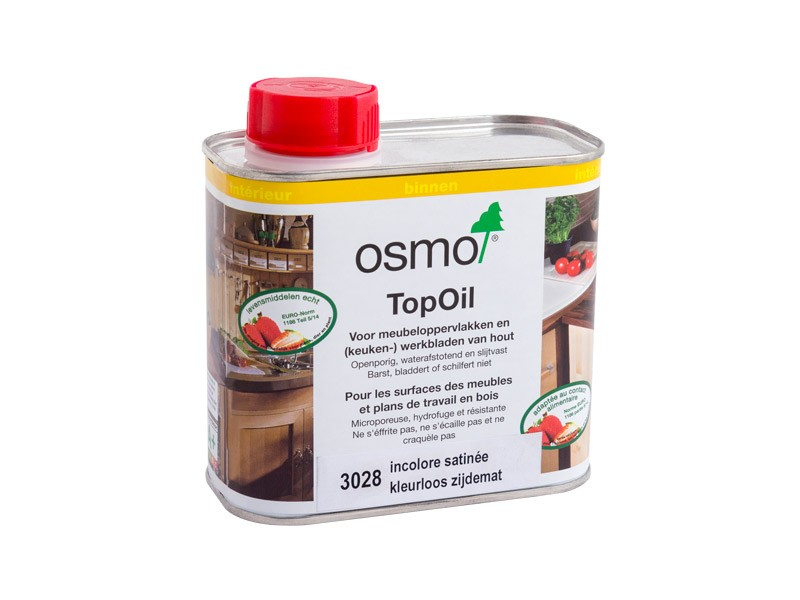 Produit d'entretien Osmo - Top Oil n°3028 Incolore satinée