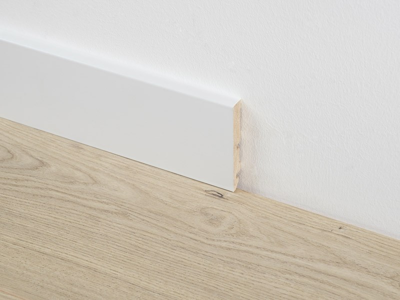 Plinthe blanche 80 mm