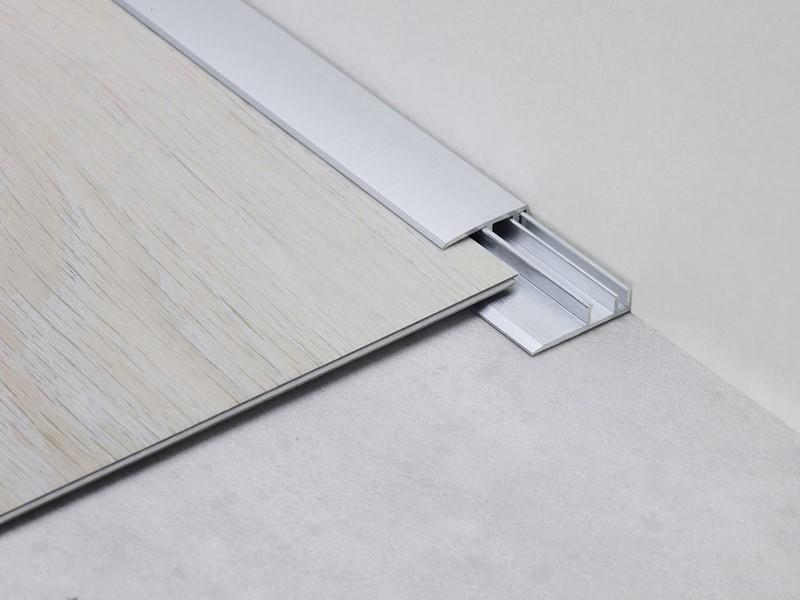 Accessoire de sol vinyle - Barre d'arrêt en alu