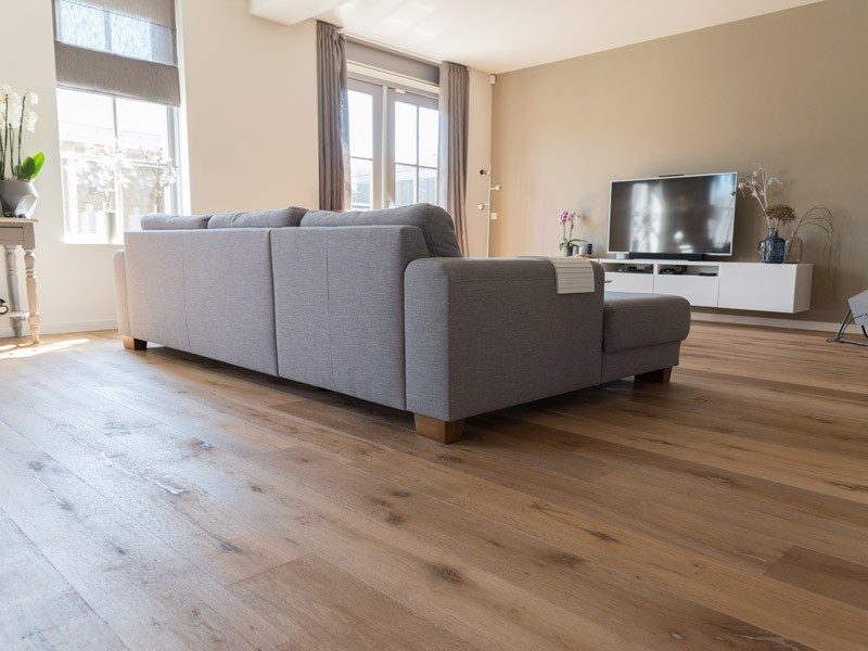 Parquet contrecollé Lamett - Chêne Country Smoked Natural