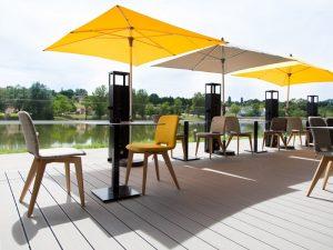 Lame de terrasse en composite UPM ProFi Deck 150 - Gris argenté
