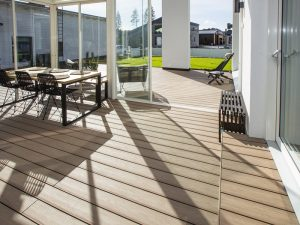 Lame de terrasse en composite UPM ProFi Piazza One - Californian Oak