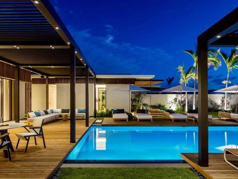 Terrasse en bois exotique Vetedy Softline - Teck
